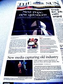 Baltimore Sun, 2.12.13