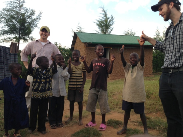 Chris Mullen, Dr. Blaney, and some Isongo children deem the assessment trip a success.