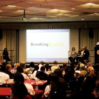 UMBC speakers shared the vision and strategy behind BreakingGround and encouraged participants to think about how to deepen civic work on their own campuses.