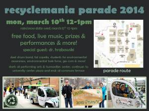 recyclemania parade 2014 flier