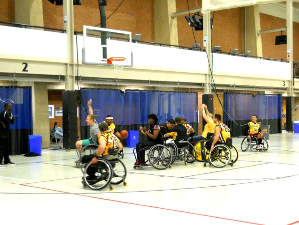 Wheelchair Basketball 1