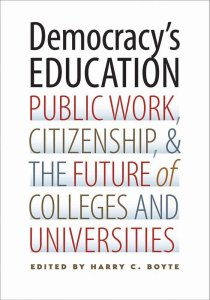 Democracy's Education Cover