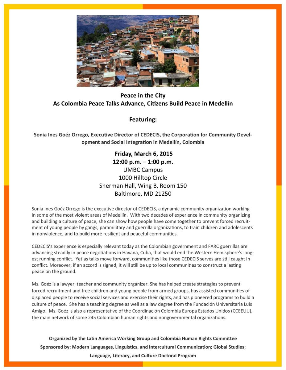 Peace in the City: Citizens Build Peace in Medellin-Colombia (3/6)