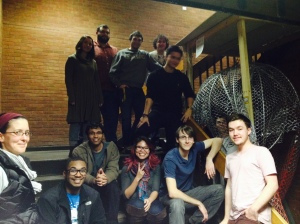 UMBC Kinetic Sculpture Team, January 2015